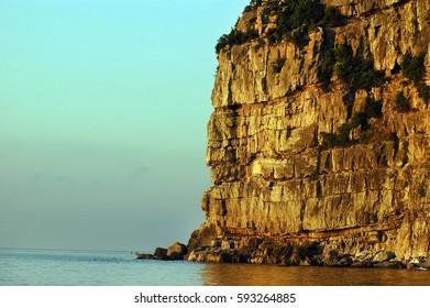 Cliff, Zonguldak, Karadeniz, Black Sea - TURKEY