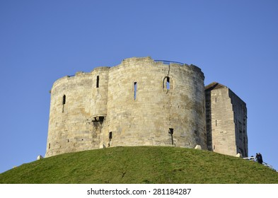 Clifford's Tower, York - english heritage site