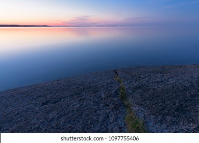 Cliffs in the Baltic Sea