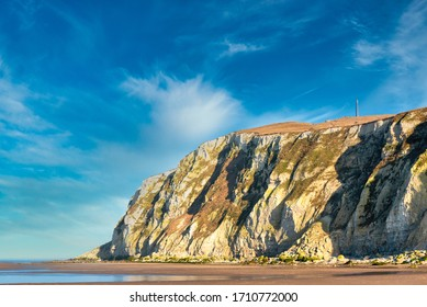 Cliffs of cape Blanc-nez in France