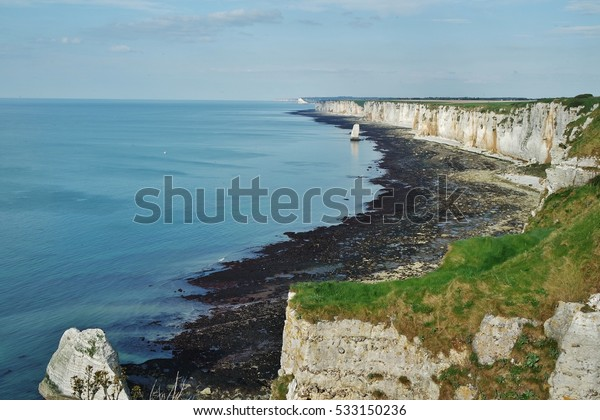 Cliffs Etretat Normandy France Stock Photo Edit Now 533150236