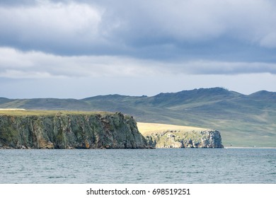 Cliffs of lake Baikal