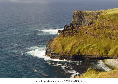 The Cliffs of Moher are the best known cliffs in Ireland. They are located on the southwest coast of Ireland's main island in County Clare near the villages Doolin and Liscannor.