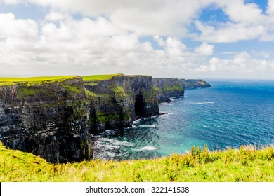 Cliffs of Moher, Burren region, County Clare, Ireland