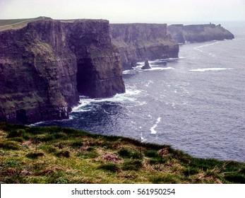Cliffs of Moher near Doolin outside Galway, Ireland