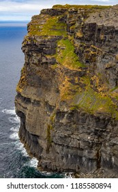Cliffs of Moher with rocks and ocean, Doolin, Clare, Ireland