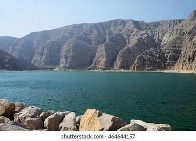 Cliffs, Musandam, Oman