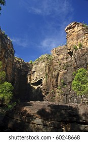 Cliffs near Jim-Jim Falls in Kakadu National Park, Northern Australia