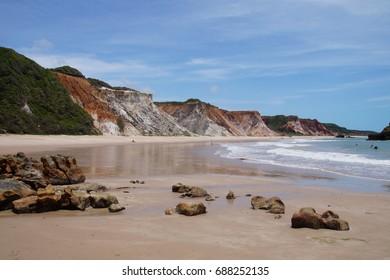 Cliffs on Tambaba Beach