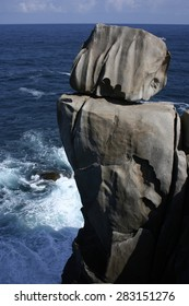 The cliffs of paper,Lugo, unknown cliffs of Galicia,Spain, secret cliffs, different, to discover,stones with strange forms of granite,stones like paper,dangerous cliffs, ideal for daring photographers