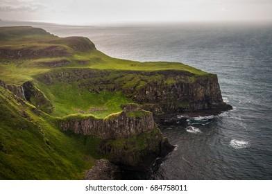 Cliffs in Rathlin Island, Northern Ireland