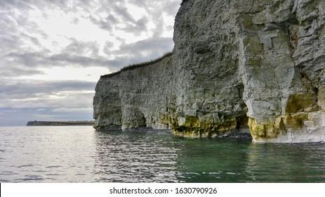 The cliffs at Sangstrup, Djursland, Denmark