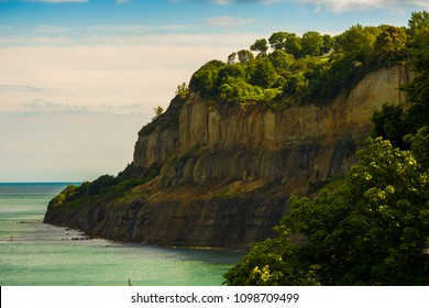 Cliffs at Shanklin on the Isle of Wight