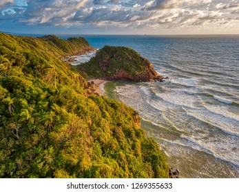 Cliffs of Solitude (Itajai, Brazil)