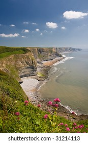 Cliffs of Southerndown, Wales, United Kingdom