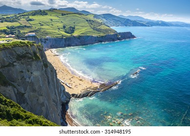 Cliffs of Zumaia, Basque Country (Spain)