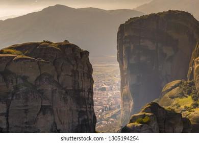 Clifftop monasteries ofMeteorain centralGreece.