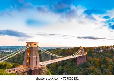 Clifton Suspension Bridge Bristol - UK