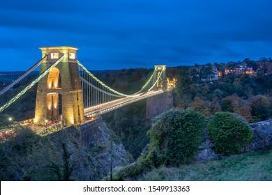 Clifton Suspension Bridge - City Scape