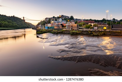 The Clifton Suspension Bridge, spanning the picturesque Avon Gorge, is the symbol of the city of Bristol.
