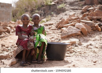 Climate Change, African Children walk hours to get to a Well