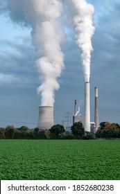 Klimawandel aufgrund von Kraftwerken mit starker Umweltverschmutzung