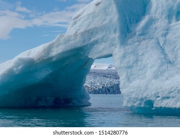 Climate change and temperatures rising makes our earth warmer and 10000 years old ice melting.