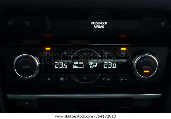 Climate Control Unit New Car Stock Photo (Edit Now) 564172018