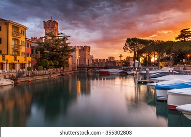 Climate port in Sirmione on Lake Garda