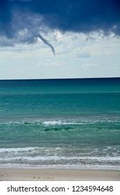 climate waterspout Australia