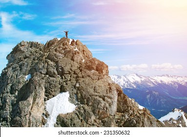 Climbers in Himalayas, Nepal