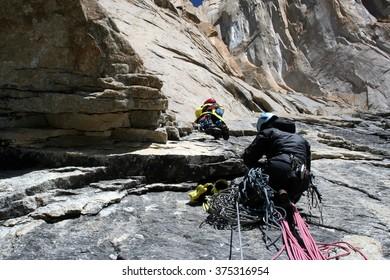 Climbers. Pakistan