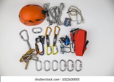 climbing equipment, gear