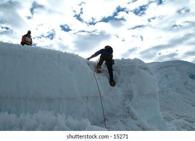 Climbing Imja Tse in Nepal Himalaya