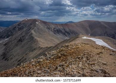Climbing Mt Democrat 14er Peak In Colorado