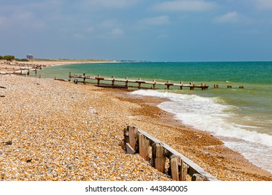 Climping Beach or Atherington a Shingle beach near Littlehampton  West Sussex England UK Europe