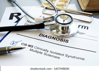 Clinically isolated syndrome multiple sclerosis cis ms diagnosis.
