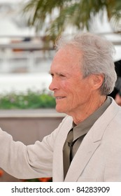 """Clint Eastwood at the photocall for his new movie """"Changeling"""" at the 61st Annual International Film Festival de Cannes. May 20, 2008  Cannes, France. Picture: Paul Smith / Featureflash"""