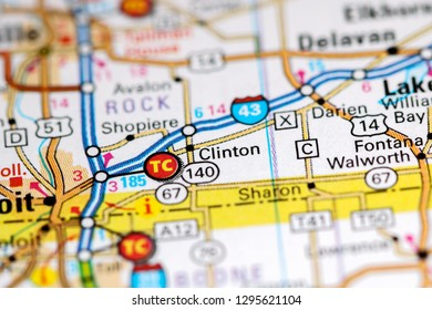 Map Of Wisconsin Stock Photos Images Photography Shutterstock