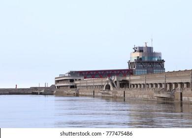 Clione promenade, breakwater