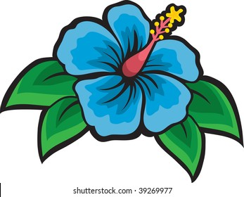 hibiscus clip art images stock photos vectors shutterstock rh shutterstock com hibiscus clipart black and white hibiscus clip art yellow