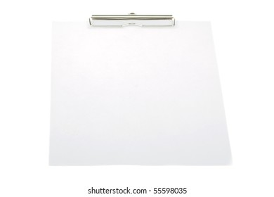 clipboard isolate on white