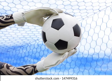 Cliping path include. Goalkeeper (termed goaltender, netminder, goalie) is a designated player charged with directly preventing the opposing team from scoring by intercepting shots at goal.