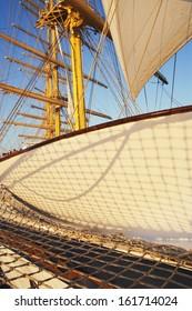 Clipper ship, Amalfi, Province Of Salerno, Gulf Of Salerno, Tyrrhenian Sea, Campania, Italy