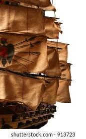 "Clipper ship model. ""Great Republic"",1836."