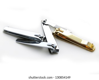 Clippers on white background.
