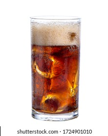 clipping path  cola isolated on white background