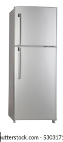 clipping path of the double door freezer