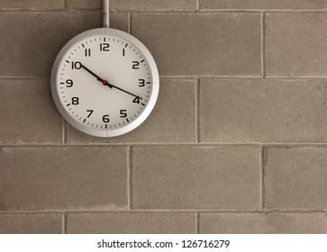 clock analog Wall background running