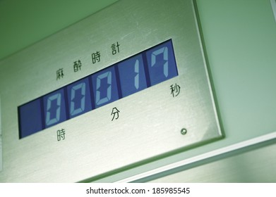 clock for anesthesia